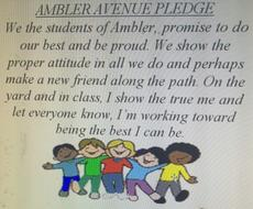 Ambler Avenue Pledge